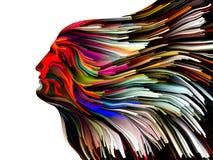 Umysł Maluje metaforę Obrazy Royalty Free