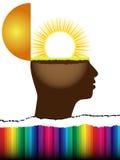 umysł otwarty Obrazy Stock