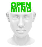 umysł otwarty Obraz Stock