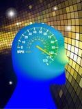 umysł prędkość Obraz Stock