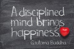Umysł przynosi Buddha obraz stock