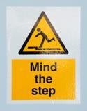umysłu znaka krok Zdjęcia Stock