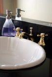 umywalkę w łazience Obrazy Stock