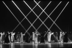 """Un  del shelter†del dance""""No del ` s de adiós-Huang Mingliang imagenes de archivo"""