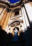 Un ángel en Vatican Imágenes de archivo libres de regalías