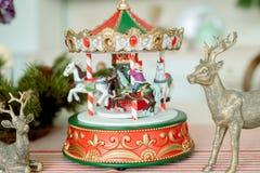 Un árbol de navidad Concepto de la Feliz Navidad fotografía de archivo