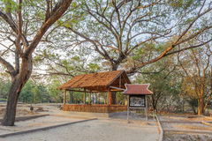 Un área del campo Choeng Ek, suburbios Phnom Penh, Camboya de la matanza Fotografía de archivo libre de regalías