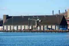 Un área industrial Foto de archivo libre de regalías