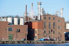 Un área industrial Imágenes de archivo libres de regalías