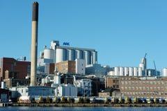 Un área industrial Foto de archivo