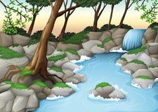 Un écosystème illustration libre de droits