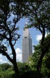 Un édifice haut simple Photographie stock