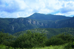 Un été de montagne de Huachuca Images libres de droits