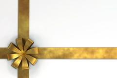 Un 3D rende del nastro del regalo Immagine Stock