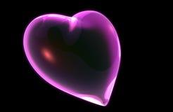 Un 3D rende di un cuore Fotografia Stock Libera da Diritti