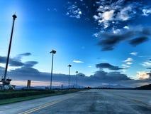 Un aéroport Image libre de droits