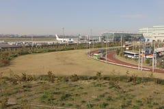 un aéroport international de Tokyo Haneda Image stock