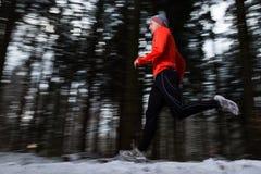 Pulser supérieur pendant l'hiver Photo stock
