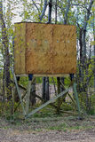 Un abat-jour de chasse après qu'il ait été augmenté Image libre de droits