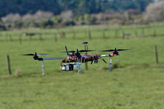 Un abejón o un UAV fotos de archivo libres de regalías