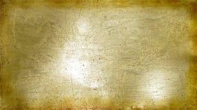 Un abrégé sur brillant texturisé rustique barre d'or Photos stock