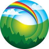 Un abstrait environnemental Images stock