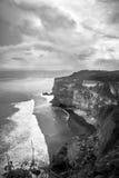 Un acantilado en Bali Indonesia Imagen de archivo