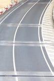 Accès de survol d'autoroute Image stock