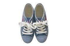 Un accoppiamento delle scarpe da tennis generiche Fotografie Stock