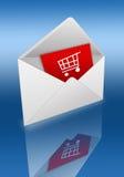 Un acquisto è nel Internet Immagini Stock Libere da Diritti