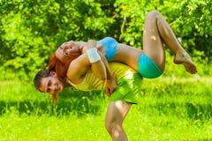Un addestramento delle coppie Fotografia Stock
