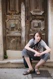 Un adolescente Foto de archivo