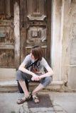 Un adolescente Foto de archivo libre de regalías