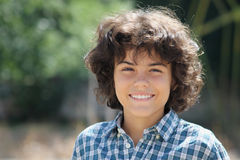 Un adolescente atractivo Fotos de archivo