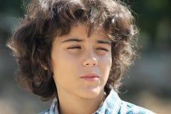 Un adolescente atractivo Fotografía de archivo