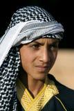 Un adolescente de decente árabe en Harran en Turquía Foto de archivo libre de regalías