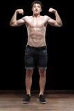 Un adolescente masculino sano en estudio Fotos de archivo