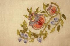Un adorno turco en la costura (iii) Imágenes de archivo libres de regalías