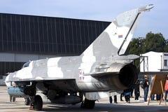 Un aereo di battaglia Fotografia Stock Libera da Diritti