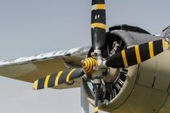 Un aeroplano 2 fotografia stock