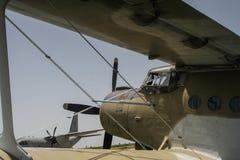Un aeroplano 2 immagini stock