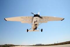 Un aeroplano del cessna Imagen de archivo libre de regalías