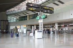 Un aeroporto in Europa Fotografie Stock Libere da Diritti