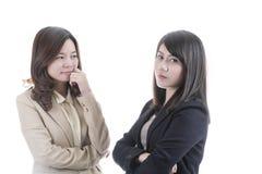 Un affare di due asiatici immagine stock libera da diritti
