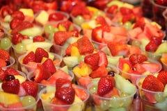 Desserts de salade de fruits. Image libre de droits