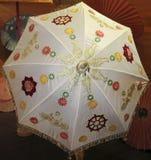 Un affichage magnifique de parapluie, Chiang Mai, Thaïlande photo stock