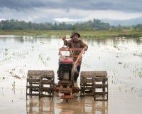 Un agricoltore Fotografie Stock Libere da Diritti
