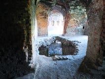 Un agujero en el piso en la fortaleza fotografía de archivo libre de regalías