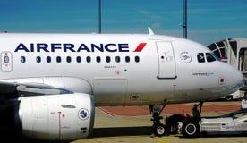 Un Airbus A319 d'Air France KLM (AF) Photographie stock