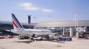Un Airbus A318 da Air France KLM (AF) Immagini Stock